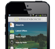 Stellebosch Golf Club App